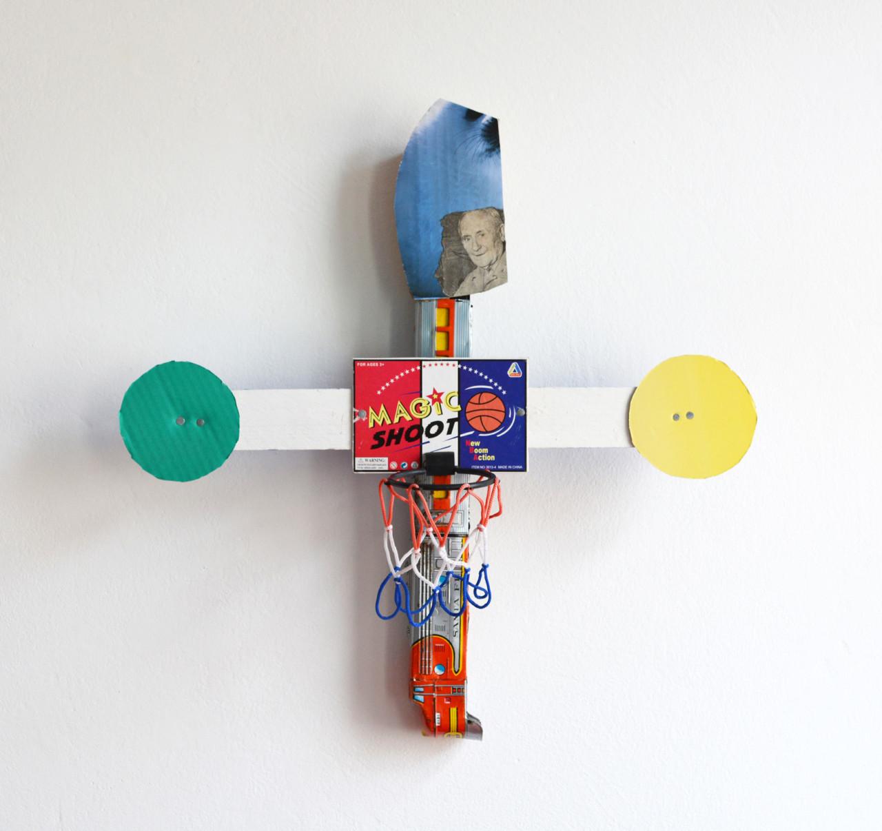 Ulrich Hakel Miró cross
